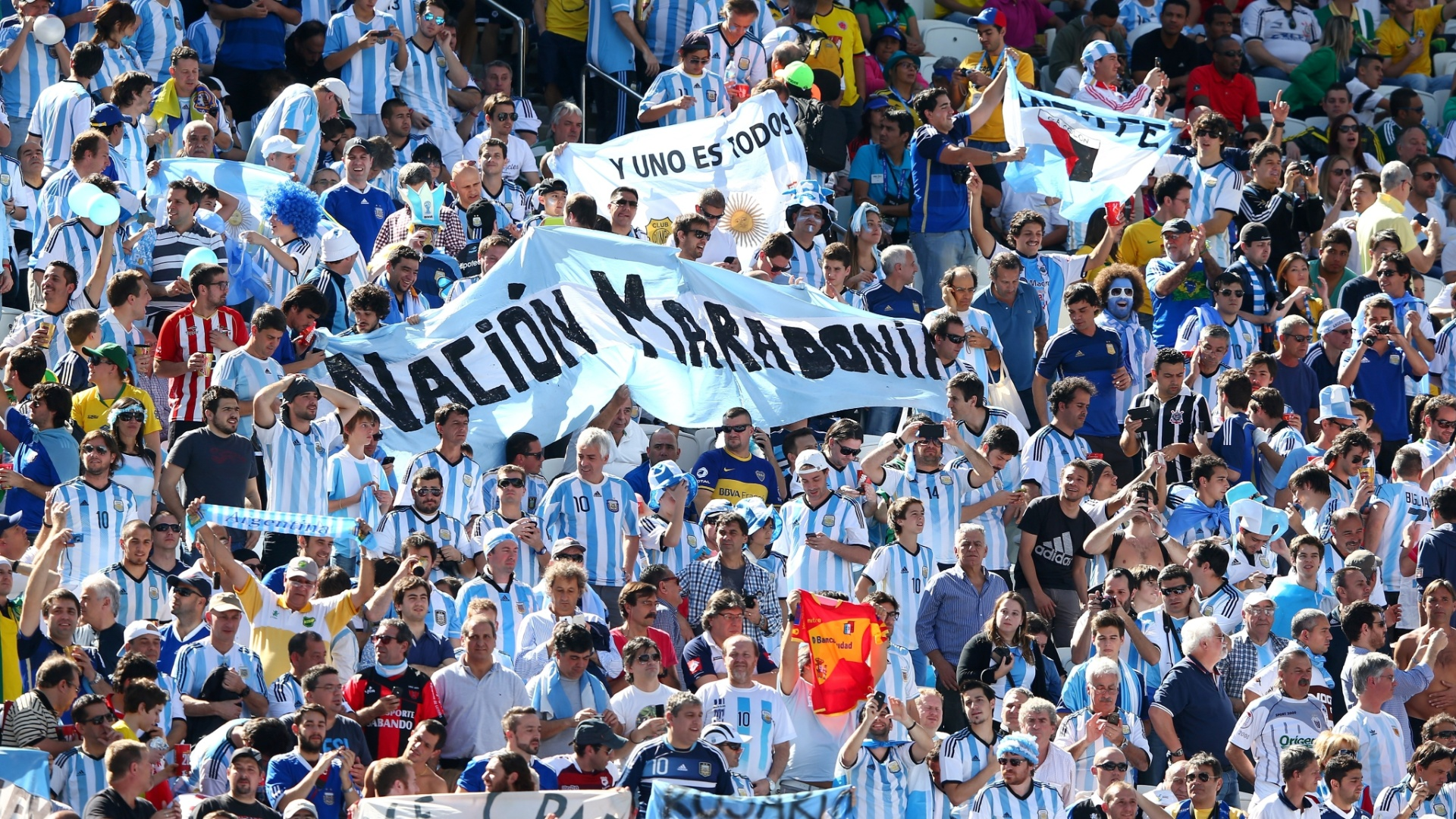 01.jul.2014 - Torcida argentina