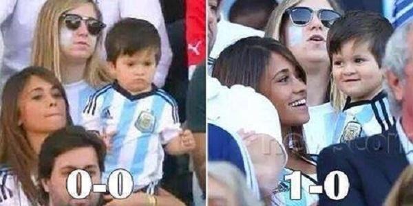 Vitória Argentina fez a alegria dos torcedores