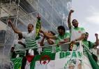 Argélia decide doar prêmio de R$ 19 mi da Copa para população de Gaza - AFP PHOTO/FAROUK BATICHE
