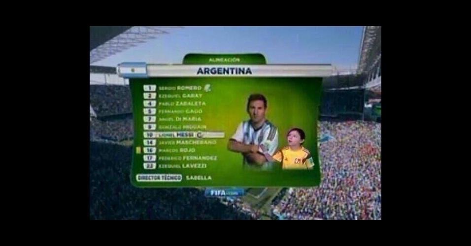 Após ignorar garoto antes de entrar em campo, craque argentino sofreu com as piadas