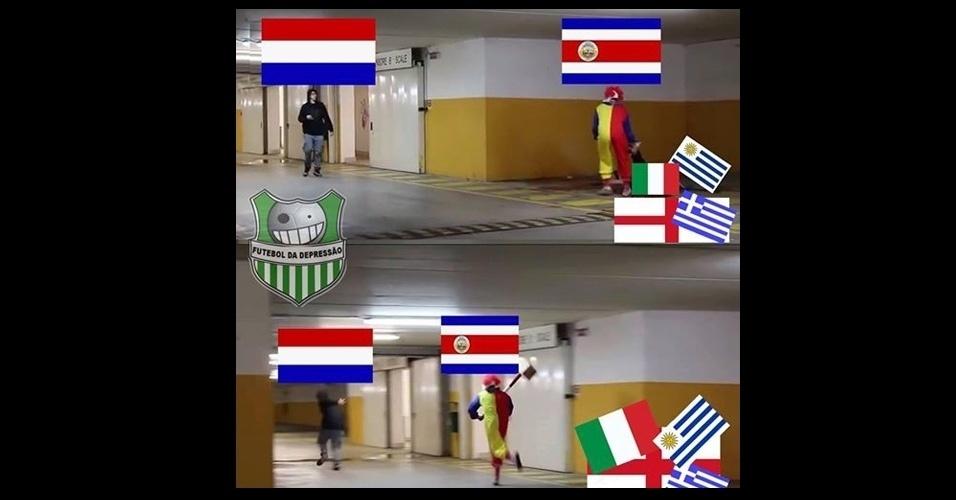 Carrasca, Costa Rica se prepara para enfrentar a Holanda