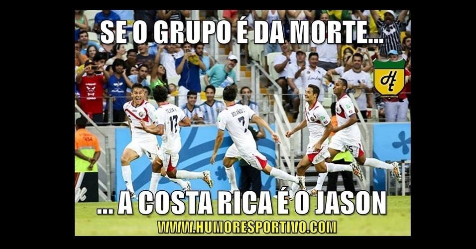 """Costa Rica foi comparada ao vilão Jason, do filme """"Sexta-feira 13"""""""