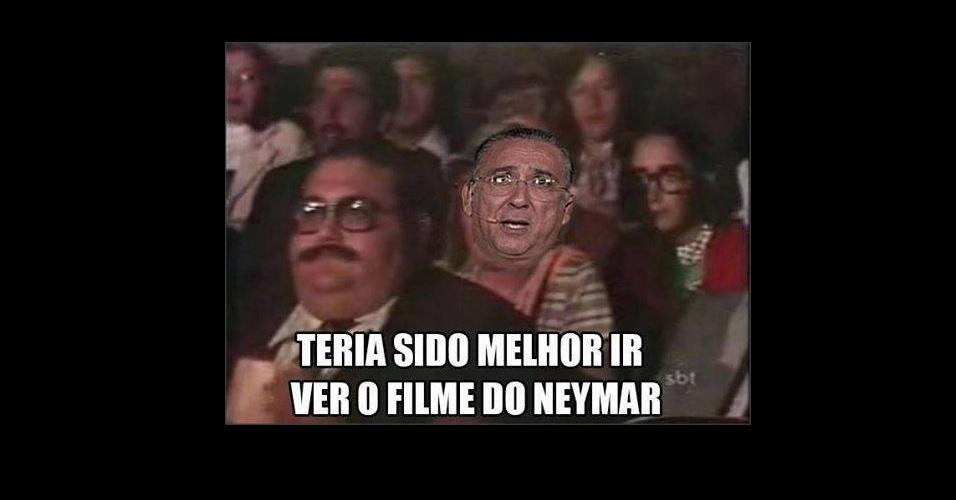 Filme do Pelé? Era melhor ter visto o filme do Neymar