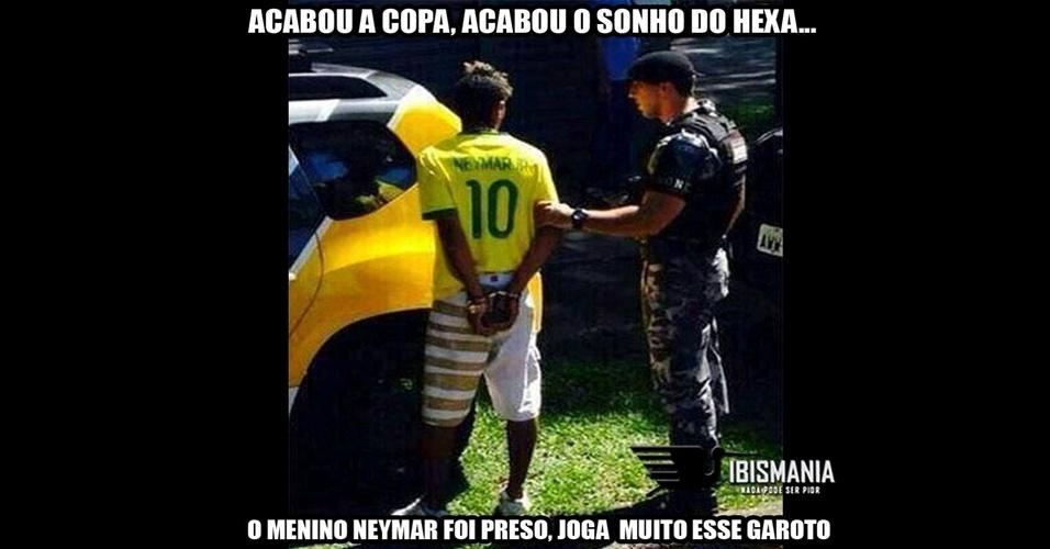 Homem parecido com Neymar é preso e internautas não perdoam na web