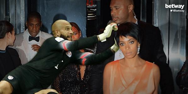 Howard salvaria até Jay-Z da cunhada Solange