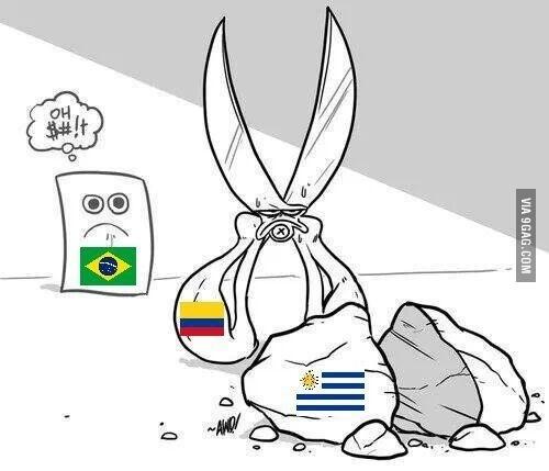 Se essa tesoura colombiana corta até pedra...