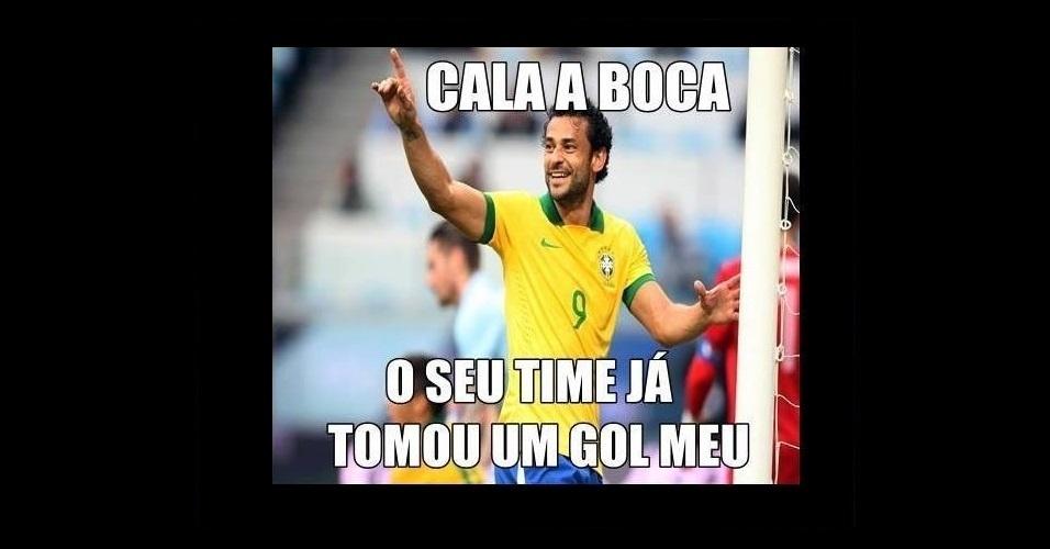 Mesmo mal na Copa do Mundo, Fred já foi o carrasco de muitos times brasileiros