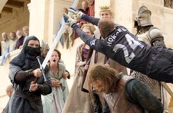 Ned Stark, do seriado Game of Thrones, não morreria se Howard estivesse lá