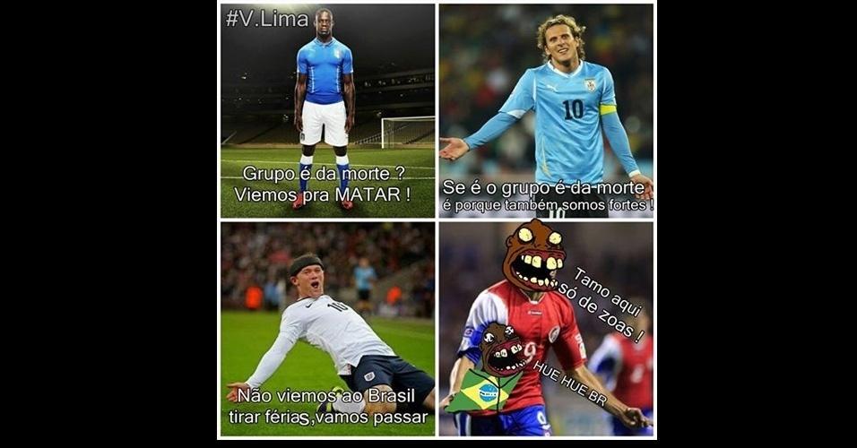 No grupo dos campeões mundiais, a Costa Rica deixou todos para trás
