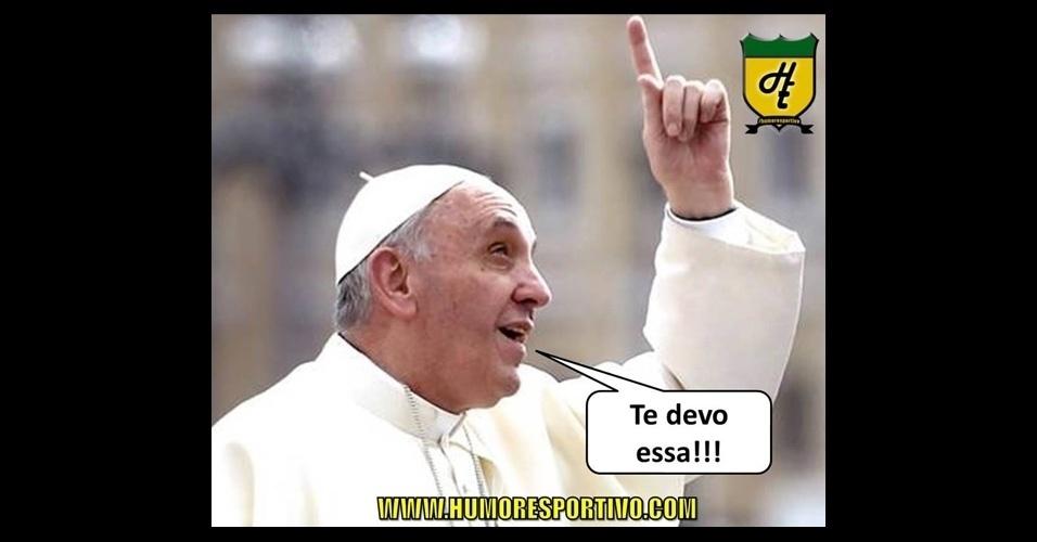 Papa até agradece pela bola na trave que a Suíça desperdiçou nos minutos finais das oitavas de final