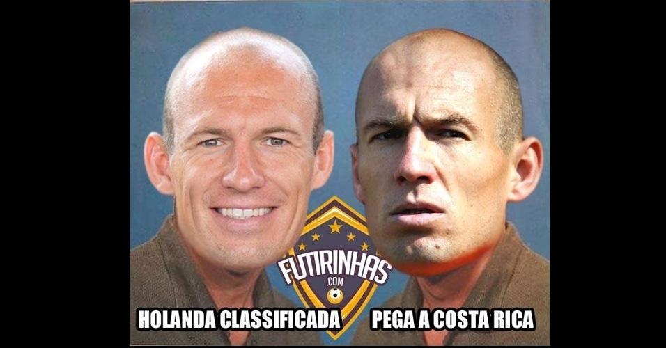"""Robben """"versão meme de Chico Buarque de Hollanda"""" foi criado pelos internautas"""