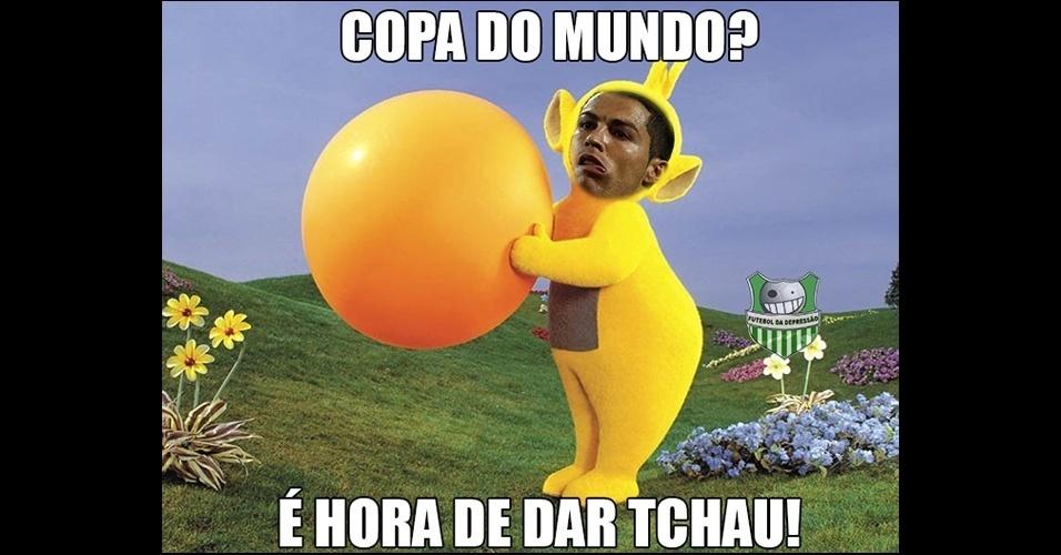 Ronaldo ganhou até uma versão Teletubbie