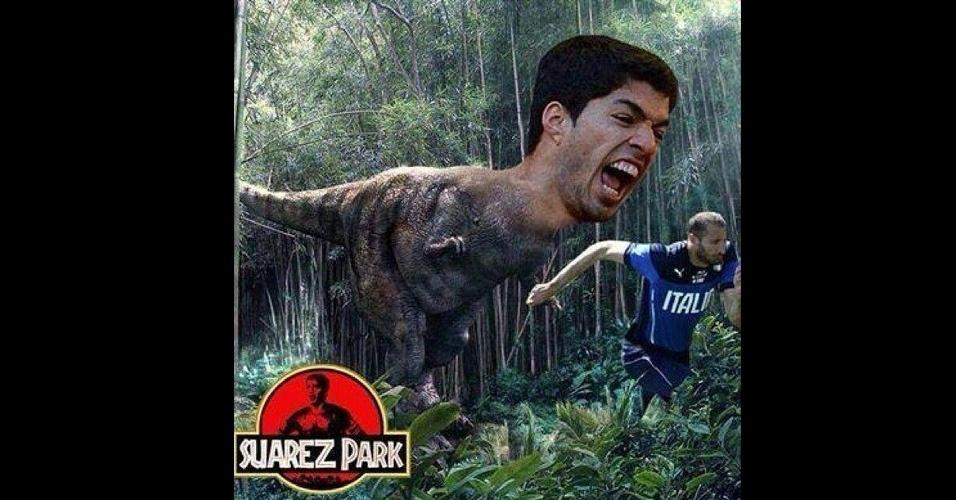 Suárez Rex fez sucesso nas redes sociais
