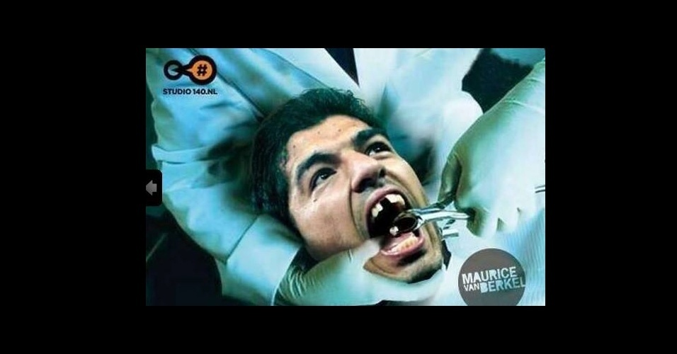 Uruguaio sofre no dentista