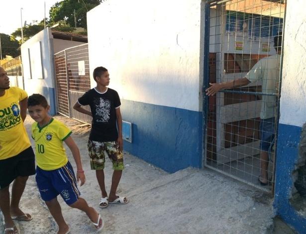 Entrada em obra ao lado do estádio Presidente Vargas é proibida por questões de segurança