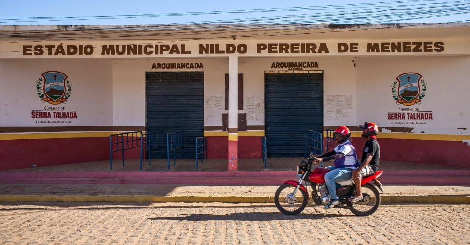 Estádio Municipal Nildo Pereira de Menezes, mais conhecido com Pereirão, que sedia jogos das duas equipes da cidade o Serra Talhada FC e o Serrano FC.