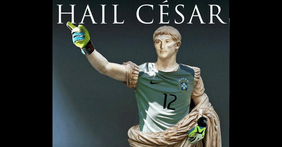Goleiro brasileiro virou imperador romano após defesas contra o Chile