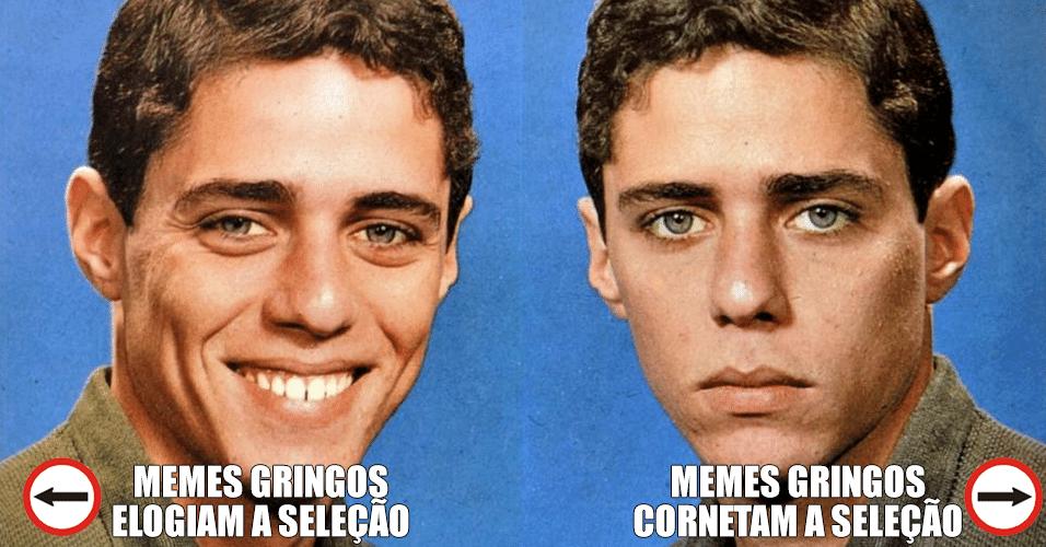 Gringos cornetaram e elogiaram a seleção brasileira. Escolha para que lado deseja seguir