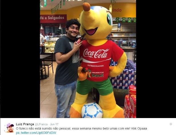 Humorista Luiz França negocia show para a seleção brasileira