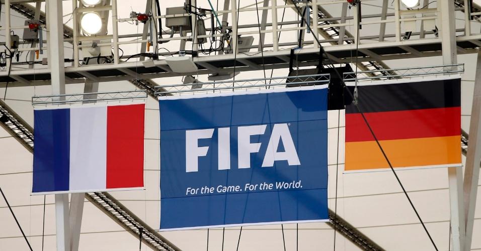 03.jul.2014 - Maracanã já está pronto para receber França x Alemanha nesta sexta-feira