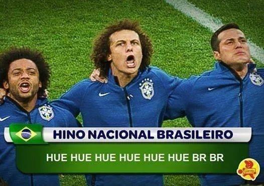Nova versão do hino nacional brasileiro?
