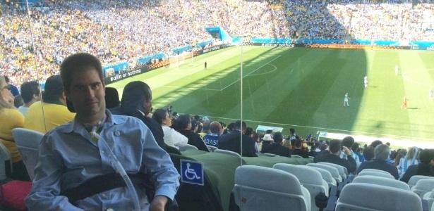 Ricky Ribeiro fez de tudo para ir ao Itaquerão assistir a um jogo da Copa - e conseguiu