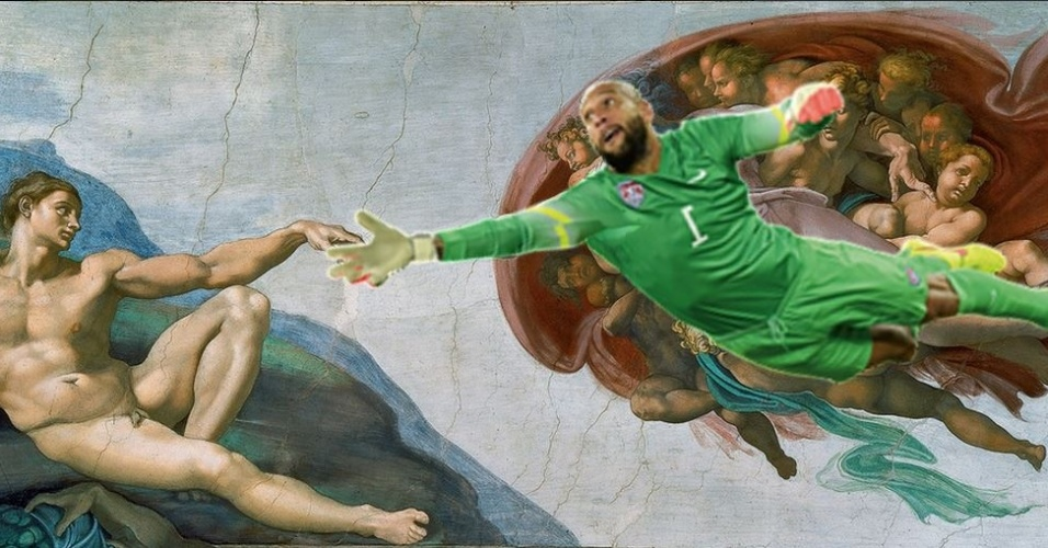 Tim Howard: fina arte defendendo o gol
