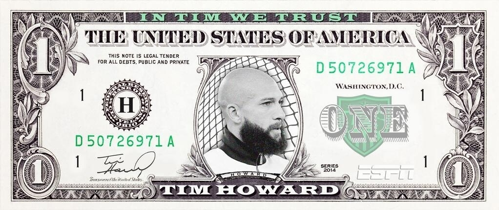 Tim Howard valendo muito!