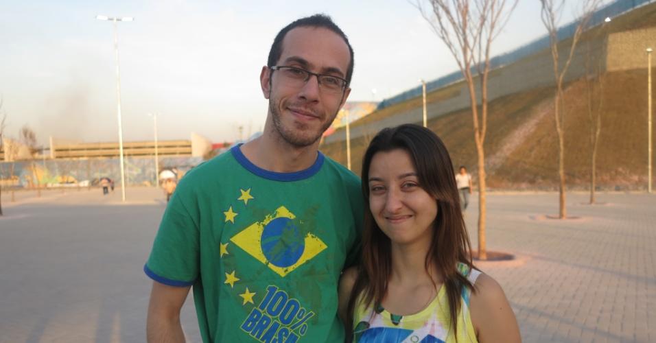 Turistas de Santo André visitam Itaquerão, novo ponto turístico da zona Leste de São Paulo.