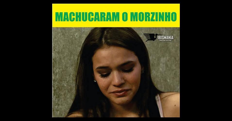 Bruna Marquezine não está feliz com lesão de Neymar