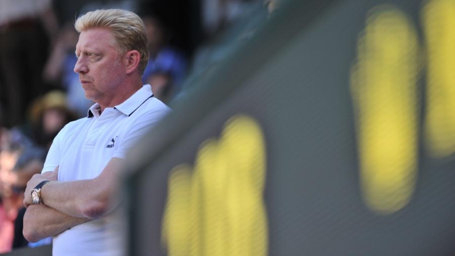 Boris Becker entregou raquete falsa em leilão beneficente - GLYN KIRK/AFP