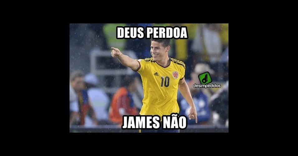 James Rodrigues quase foi o carrasco do Brasil