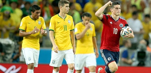 James Rodríguez se destacou na Copa do Mundo e marcou seis gols