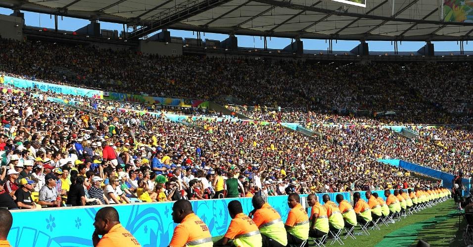 Maracanã recebeu grande público para Alemanha e França, nesta sexta-feira