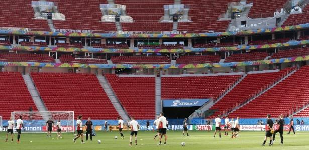 O Estádio Nacional Mané Garrincha: grande, caro e candidato a elefante branco