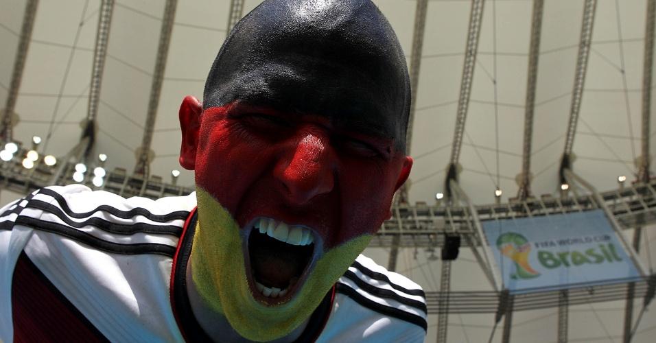 Torcedores lotam Maracanã para jogo entre Alemanha e França