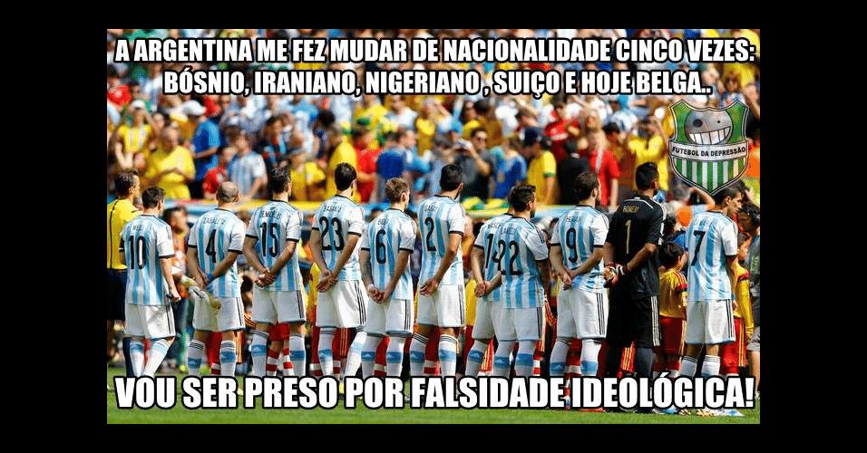 Argentina está fazendo torcedores brasileiros torceram para várias seleções nesta Copa