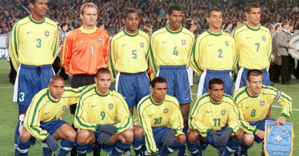 César Sampaio e Ronaldo Fenômeno marcaram na vitória de 2 a 1 do Brasil sobre a Alemanha em amistoso realizado em 1993