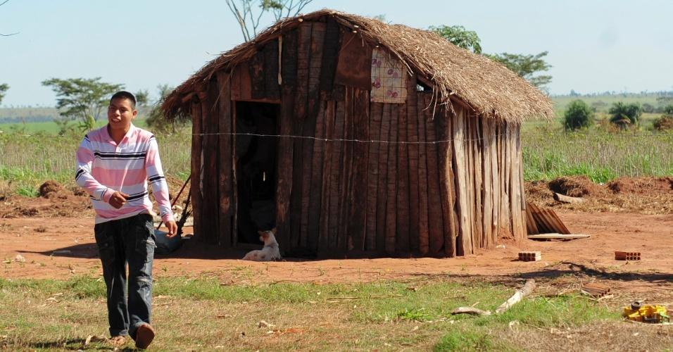 A forte presença indígena fez a cidade de Tacuru aprovar em 2010 o guarani como sua segunda língua oficial