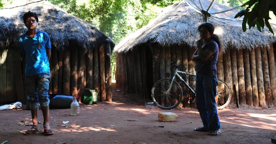 Aldeia Sassoró fica na cidade de Tacuru e conta com com cerca de 2400 eleitores