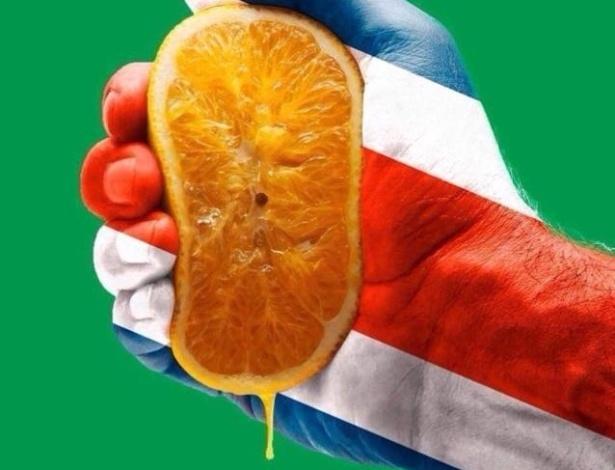 Costa Rica tenta espremer a laranja