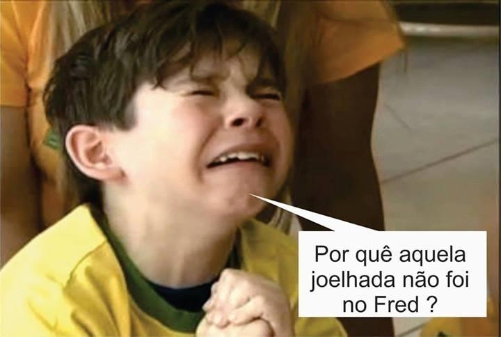 Criança chora: Por que a joelhada não foi no Neymar?