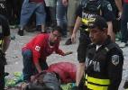 Três torcedores são esfaqueados na Costa Rica durante jogo contra Holanda - REUTERS/Juan Carlos Ulate