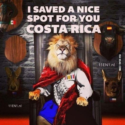 """""""Eu guardei um ótimo lugar para você, Costa Rica"""". Holanda tenta acabar com a zebra"""