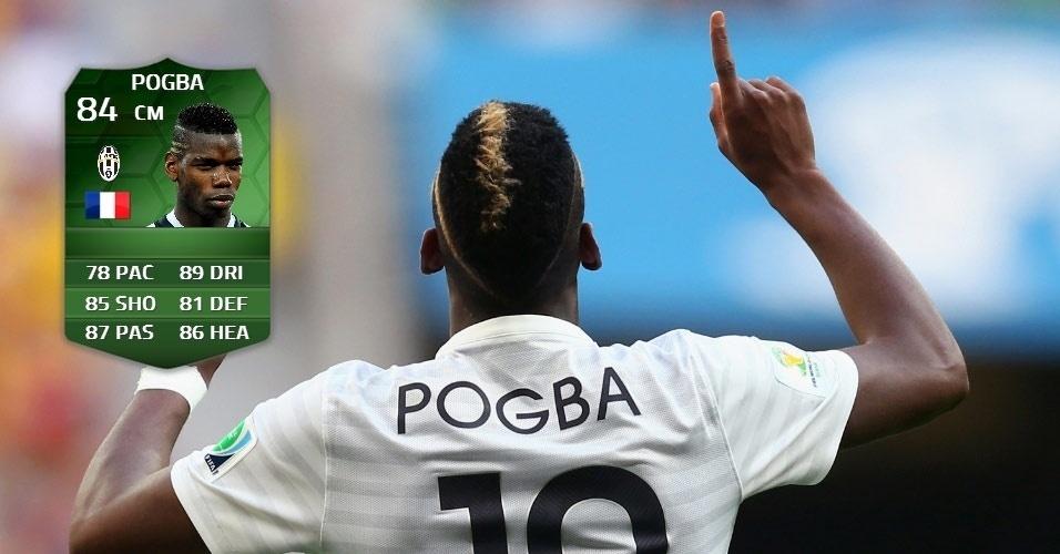 França 2 x 0 Nigéria: Pogba (79 para 84)