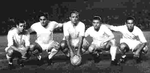 Di Stéfano marca para o Real Madrid em 1960 - AFP - AFP