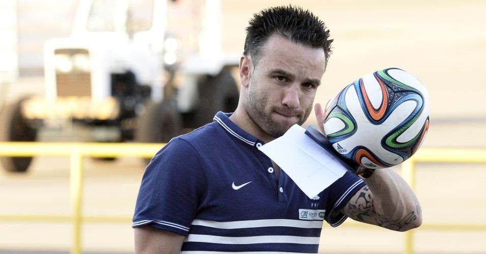 Meio-campo da seleção francesa Valbuena deixa Ribeirão Preto junto à seleção francesa, que foi eliminada da Copa do Mundo nesta sexta-feira, pela Alemanha