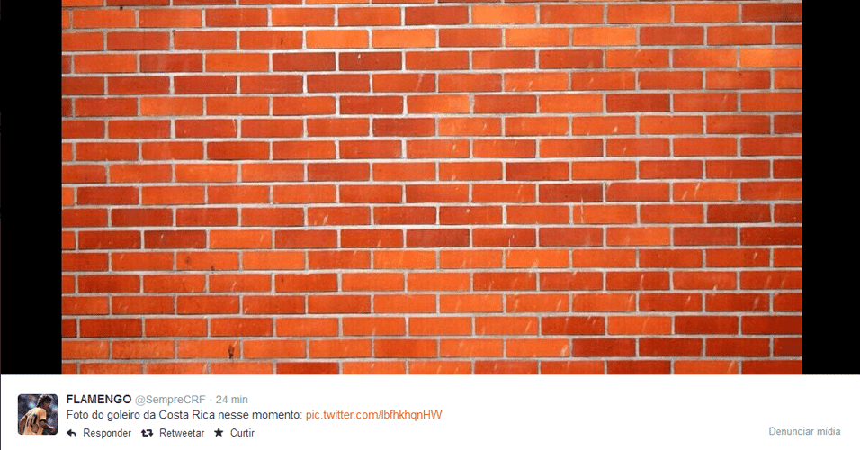 Navas foi comparado com muro
