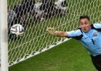 Goleiro sensação da Copa admite negociação com o Real Madrid - AFP PHOTO / GABRIEL BOUYS