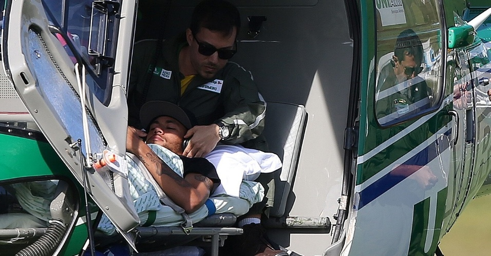 Neymar recebe últimos ajustes médicos antes de deixar a Granja Comary